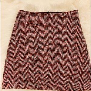 Loft Size 4 tweed skirt